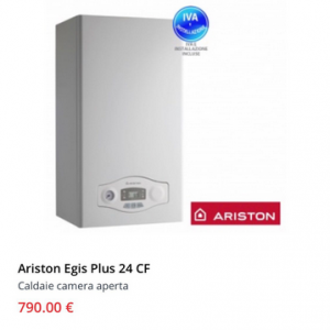 Shop vendita caldaie online for Caldaia ariston egis 24 ff problemi